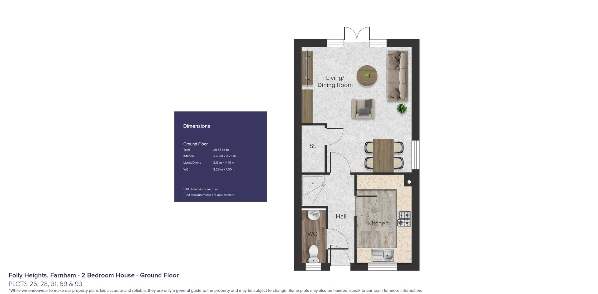 Folly Heights, Farnham_ Plots 26, 28, 31, 69 & 93_